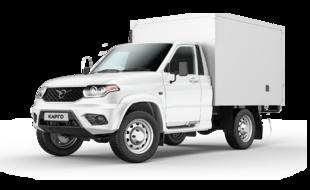 Обновленный УАЗ Карго продовольственный фургон