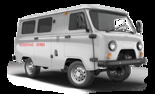 Санитарный автомобиль УАЗ для медслужб